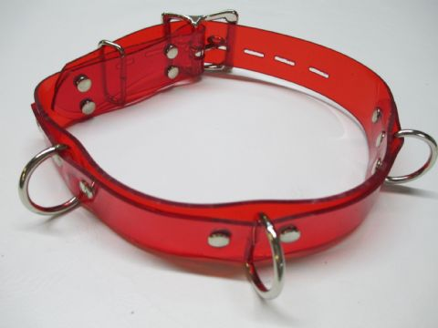 Vegan Friendly 3 Dee Design Locking Play Collar